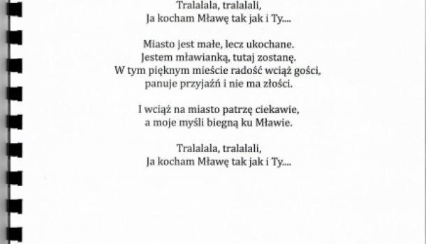 Piosenka I Wiersze Dzieci Mława